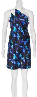 Nina Ricci Silk Sleeveless Mini Dress