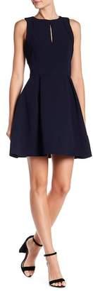 Adelyn Rae Samantha Pleated Fit & Flare Dress