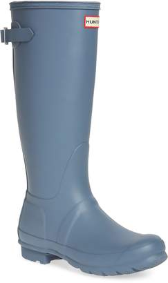 Hunter Tall Adjustable Back Rain Boot