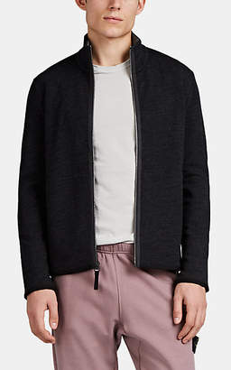 James Perse Men's Y/osemite Wool-Blend Zip-Front Jacket - Charcoal