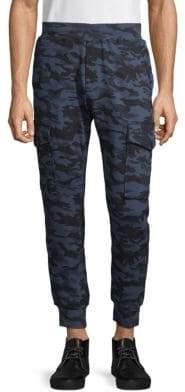 Antony Morato Camo-Print Cargo Jogger Pants