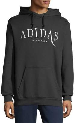 adidas Embroidered Logo Pullover Hoodie