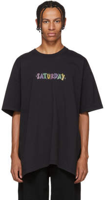 Vetements Black Saturday Weekday T-Shirt