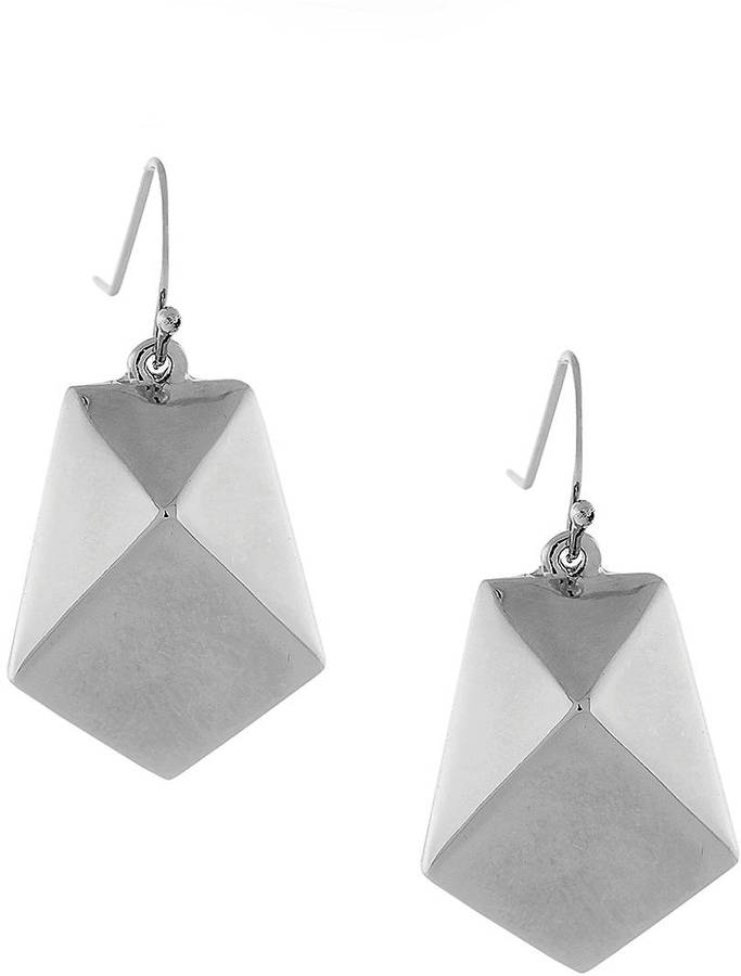 BCBGeneration Pentagonal Pendant Drop Earrings
