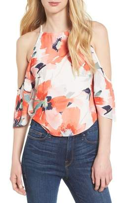 Bishop + Young BISHOP AND YOUNG Ava Cold Shoulder Top