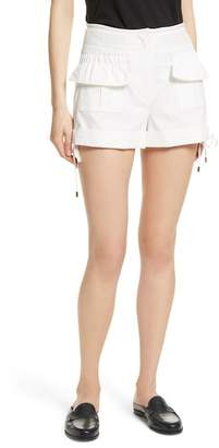 Carven High Waist Shorts