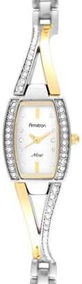 Armitron Women's Two-Tone Crystal Dress Watch
