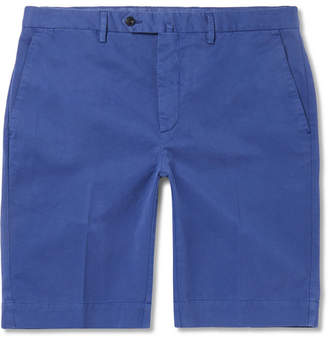 Hackett Stretch-Cotton Twill Shorts