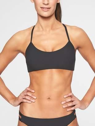 Athleta Malta Rib Pullover Bikini Top