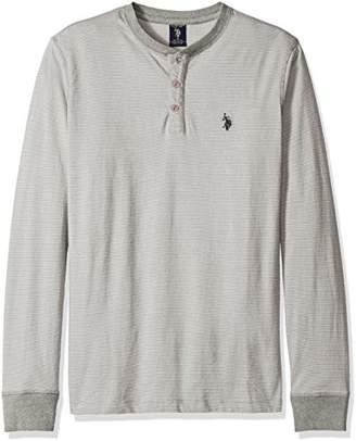 U.S. Polo Assn. Men's Long Sleeve Henley Pullover