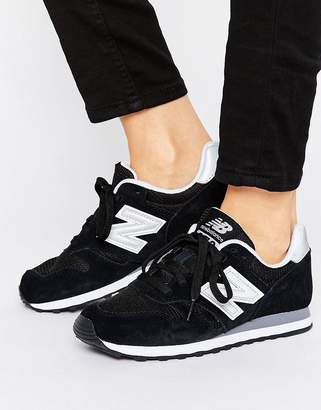 New Balance 373 trainers in black
