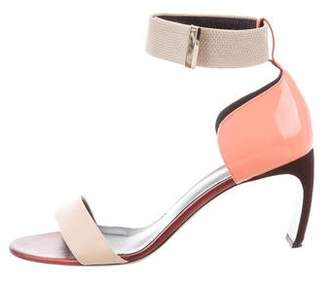 Nicholas Kirkwood Leather Ankle Strap Sandals