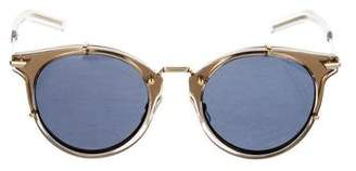 Christian Dior Tinted Round Sunglasses w/ Tags