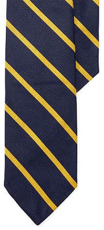 Polo Ralph LaurenPolo Ralph Lauren Striped Silk Repp Narrow Tie
