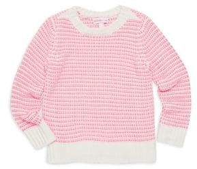 Design History Little Girl's Striped Sweater