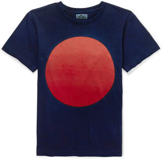 Blue Blue Japan Nt190 Printed Cotton-Jersey T-Shirt
