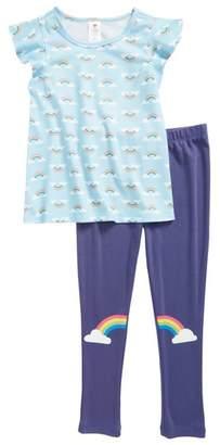 Tucker + Tate Graphic Print Two-Piece Pajamas