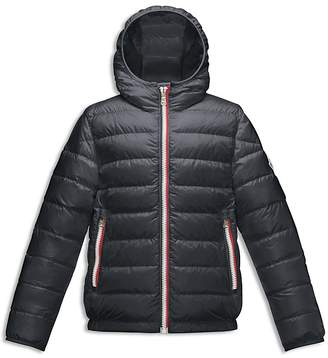 Moncler Boys' Athenes Hooded Jacket - Little Kid $420 thestylecure.com