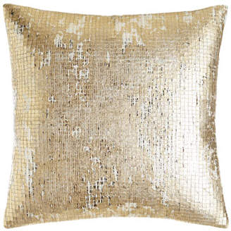 """Donna Karan Home Rhythm Sequin Pillow, 16""""Sq."""