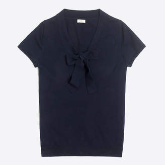 J.Crew Factory Bow-front sweater