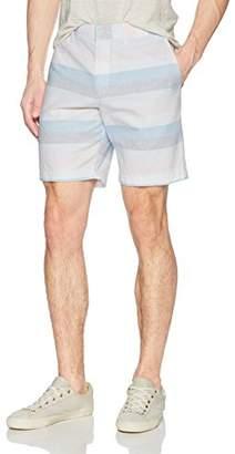 """Original Penguin Men's P55 8"""" Horizontal Dobby Stripe Short"""
