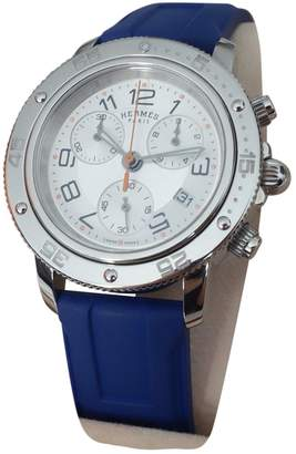 Hermes Clipper Chronographe Lady watch