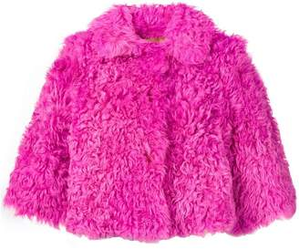 RED Valentino lambfur jacket