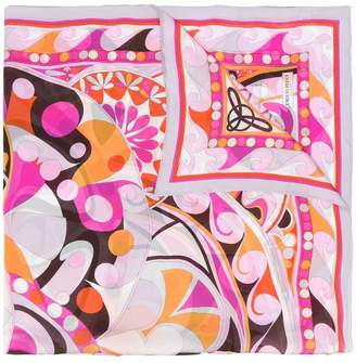 Emilio Pucci floral print scarf