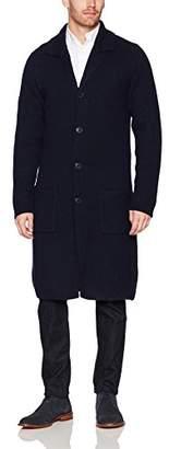Armani Exchange A|X Men's Long Knit Overcoat