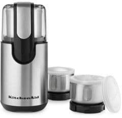 KitchenAid BCG211OB Stainless Steel Blade Coffee and Spice Grinder