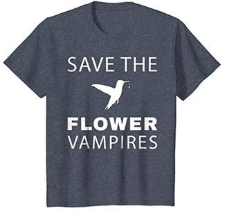 Hummingbird T-Shirt Save the Flower Vampires Birds