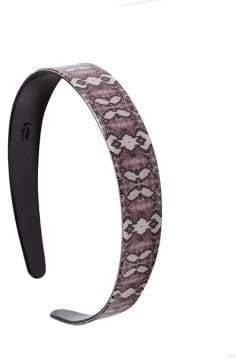 Topshop Freedom Win Snakeskin Print Headband