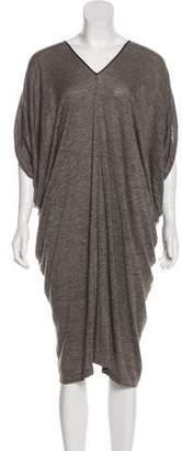 Gary Graham Wool Midi Dress