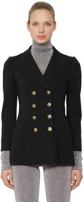 Philosophy di Lorenzo Serafini Double Breasted Jersey Jacket