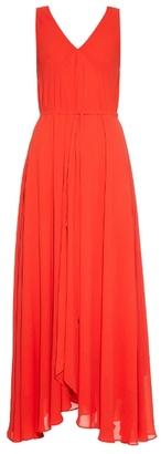 SALONI Pia-B sleeveless georgette dress