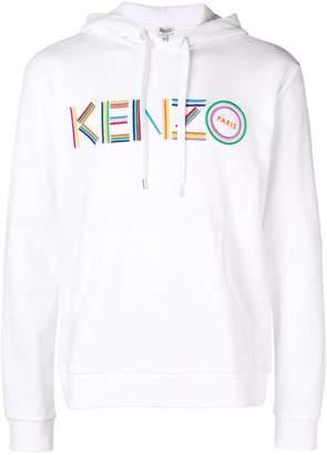 Kenzo printed logo hoodie