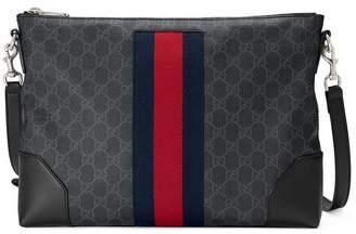 644013bbb3c0 Gucci(グッチ) ブラック レディース ショルダーバッグ - ShopStyle ...