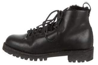 Feit Leather Ankle Boots