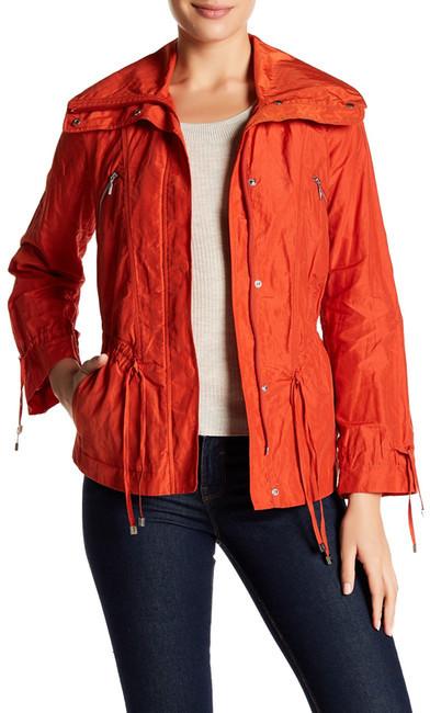 Cole Haan Cole Haan Front Zip Drawstring Jacket (Petite)