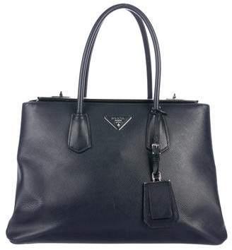Prada Saffiano Cuir Twin Bag