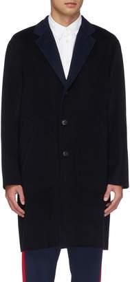 Rag & Bone 'Principle' contrast lapel reversible wool-blend coat