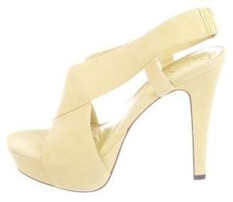 Diane von Furstenberg Zia Suede Sandals