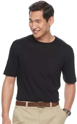 Croft & Barrow Men's Interlock Pocket Performance Tee
