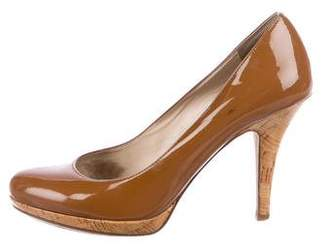 KORS Patent Rounded-Toe Pumps