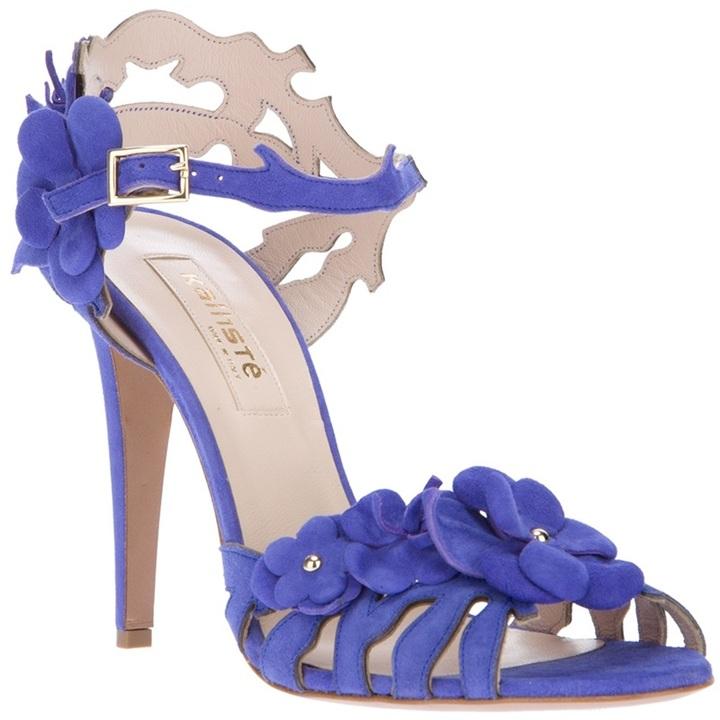 Kalliste embellished floral motif sandal
