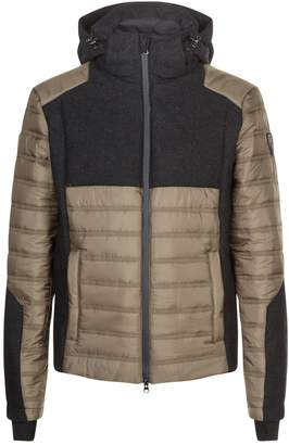 Giorgio Armani Ea7 Wool Panelled Jacket