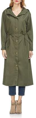 Vince Camuto Long Hooded Zip Jacket