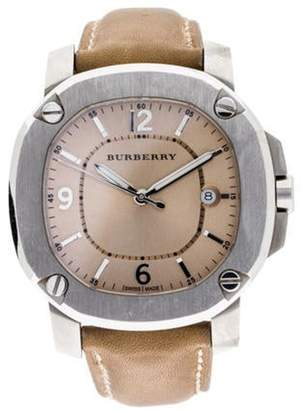 Burberry The Britain Watch champagne The Britain Watch