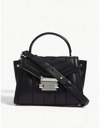 MICHAEL Michael Kors Whitney mini leather satchel