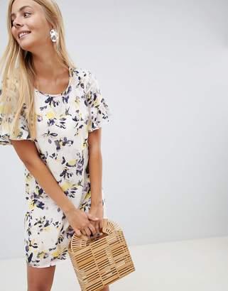 Vila Floral Smock Dress